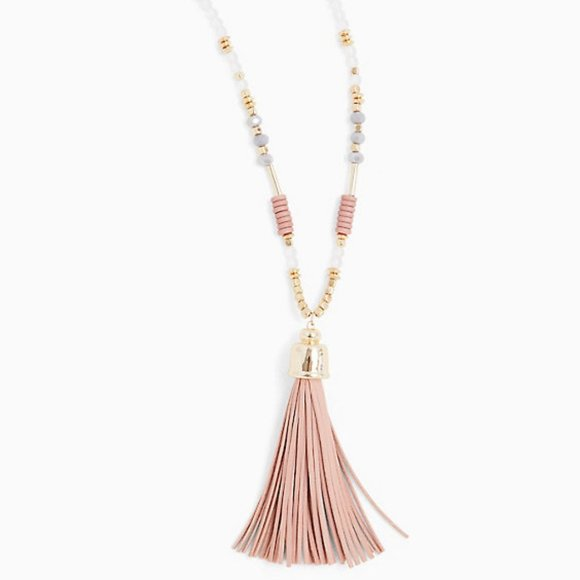 torrid Jewelry - Torrid Multi-Bead Tassel Fringe Pendant Necklace